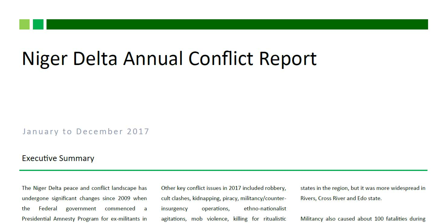 conflict in the niger delta essay Economies of violence: petroleum, politics and community conflict in the niger delta, nigeria website: niger delta: economies of violence links to working papers professor watts has developed a website on writing and crafting a dissertation prospectus.